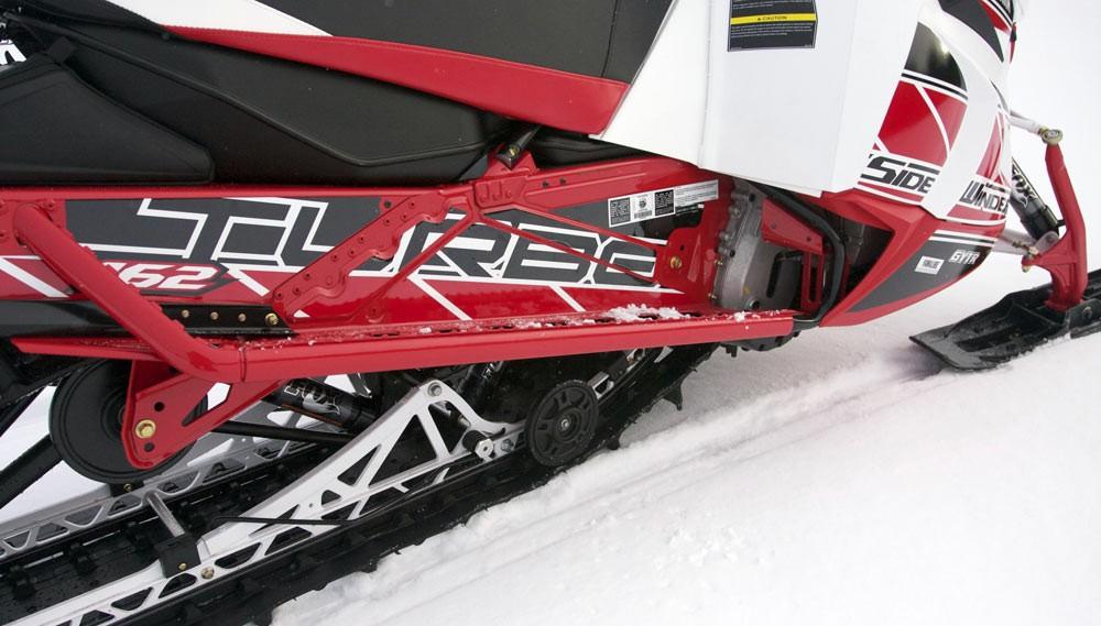 2018 Yamaha Sidewinder M-TX Runningboards