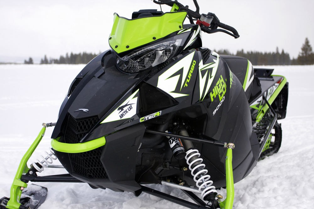 2018 Arctic Cat XF 9000 High Country Limited Front