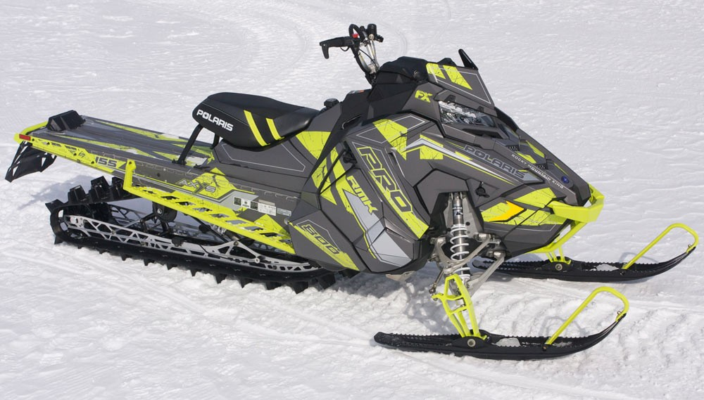 2018 Polaris AXYS Pro-RMK 800 Snow Check Select