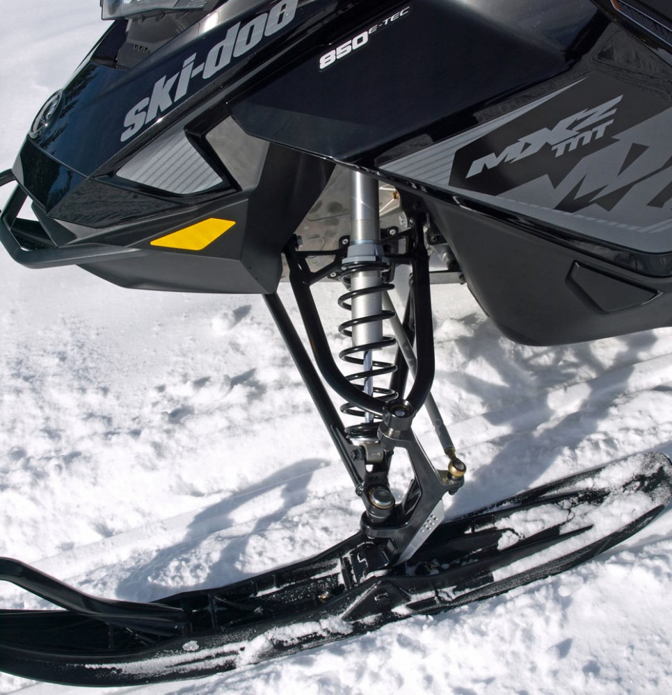 2018 Ski-Doo MXZ TNT 850 Front Suspension