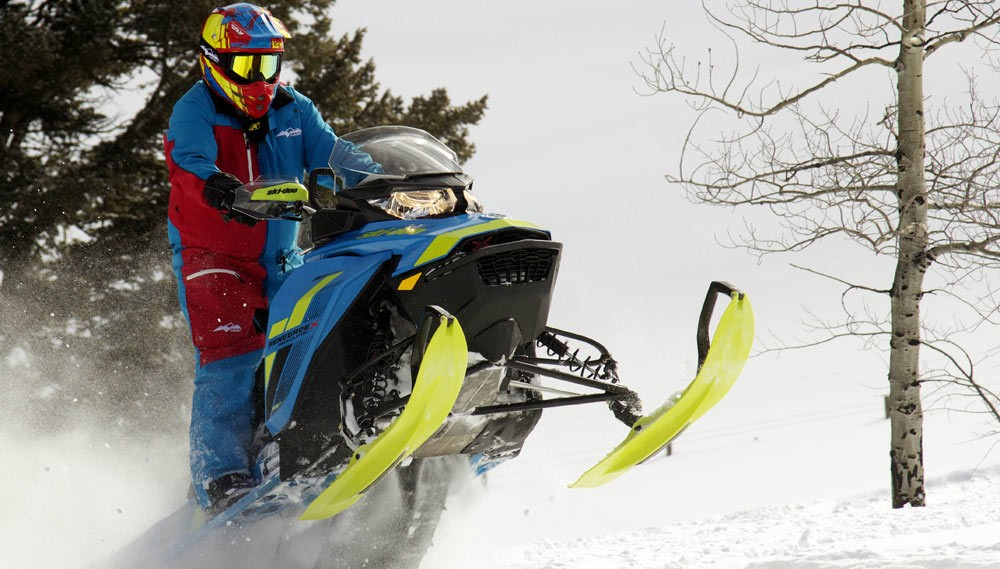 2018 Ski-Doo Renegade Backcountry X 850 Boondocking