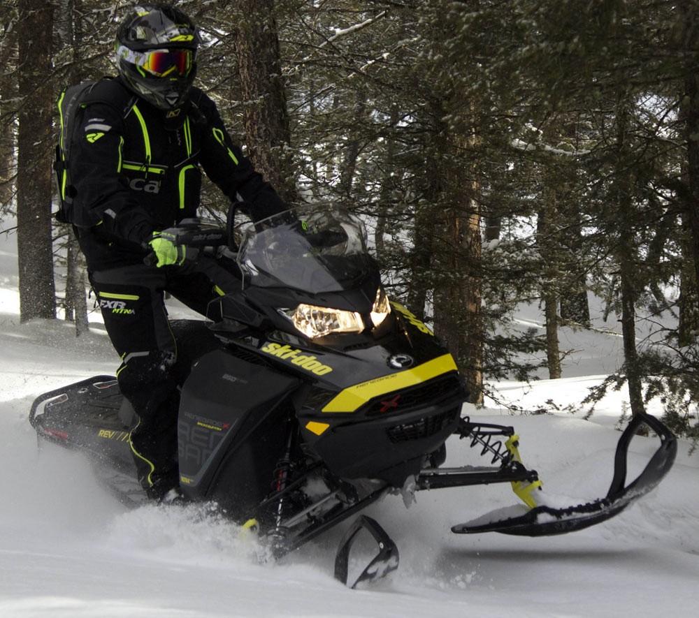 2018 Ski-Doo Renegade Backcountry X 850 Handlebar Height