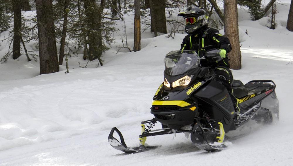 2018 Ski-Doo Renegade Backcountry X 850 Sitting Tall