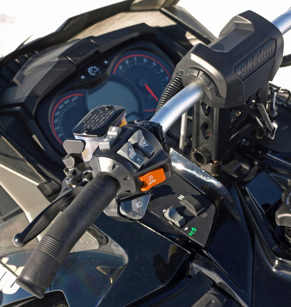 Ski-Doo Enduro Dash Controls