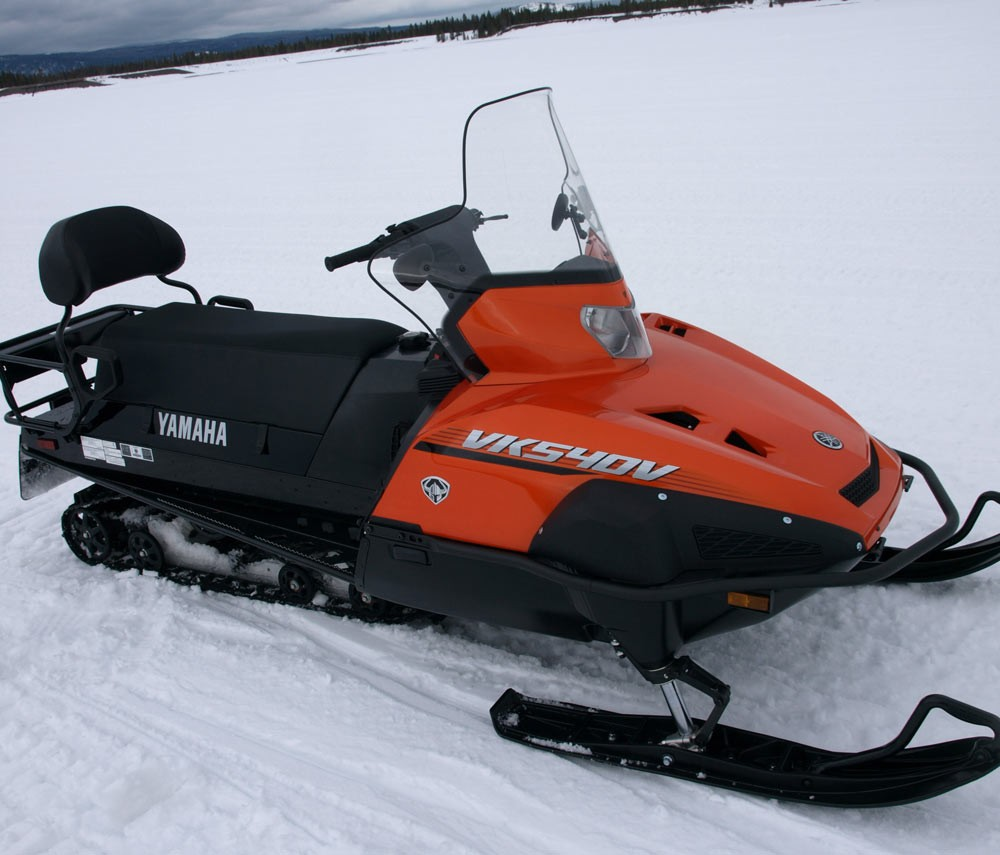 How snowmobiling and snowmobilers have changed for Yamaha snow mobiles