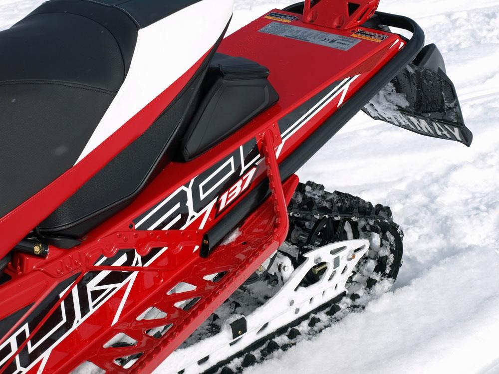 2018 Yamaha Sidewinder LTX 50th Track