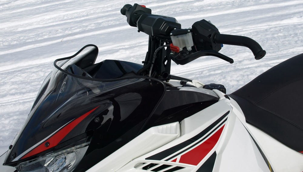2018 Yamaha Sidewinder LTX 50th Windscreen