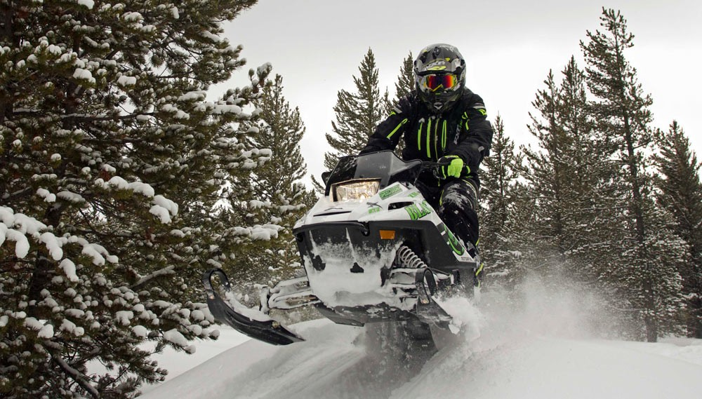 Arctic Cat ZR200 Jump