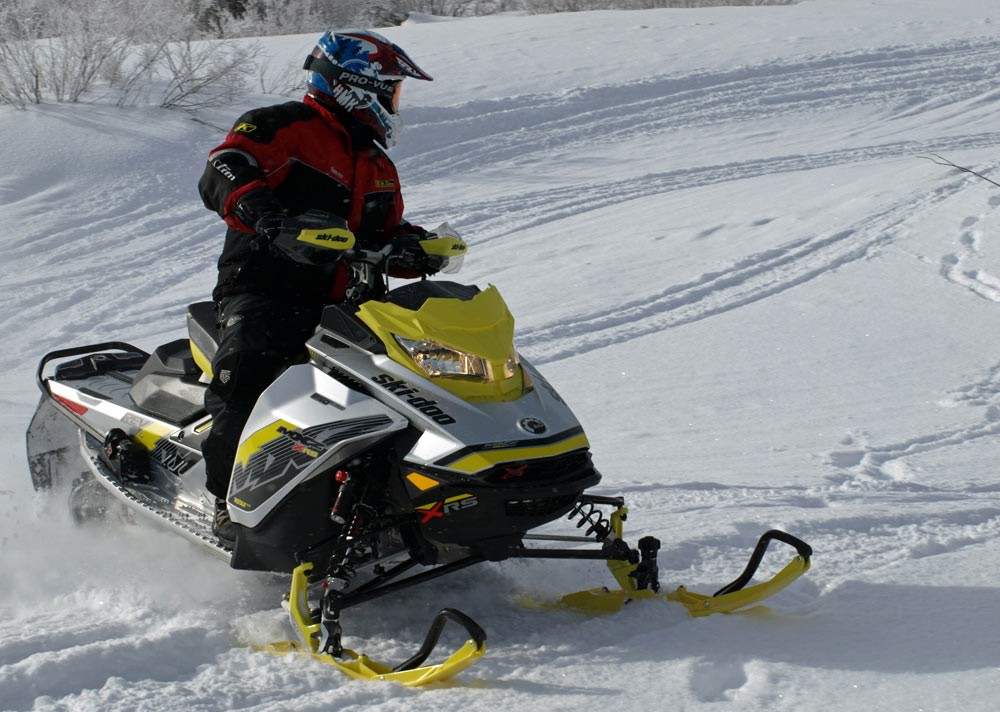 Snowmobile Power and Handling