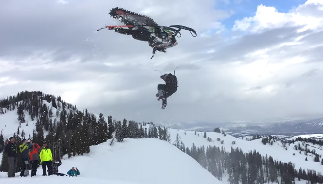 Thunderstruck 16 Teaser Video Snowmobile Com