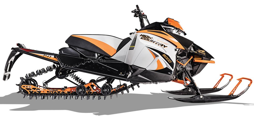 2018 Arctic Cat XF 8000 High Country Orange