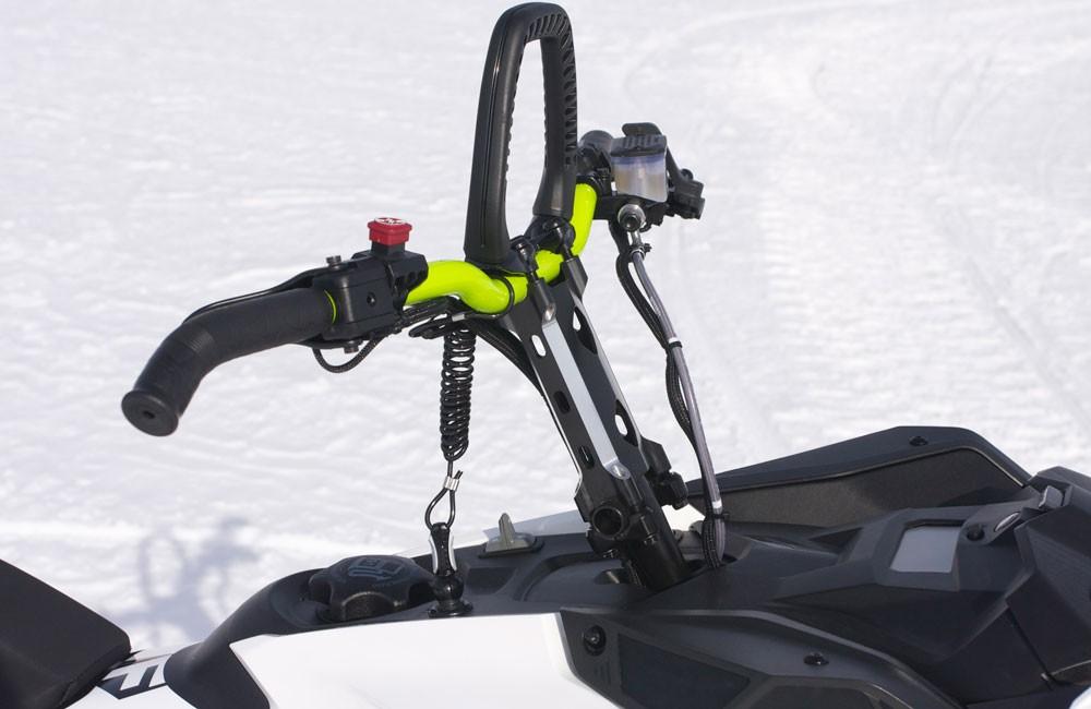 2018 Ski-Doo 850 Freeride 137 Handlebar and Mountain Strap