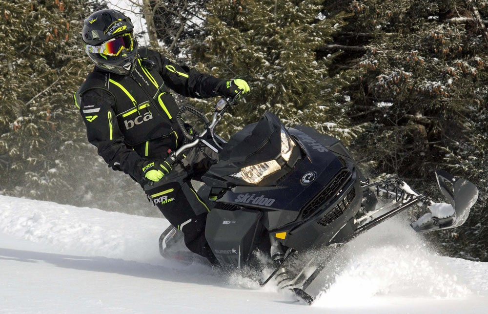 2018 Ski-Doo Summit SP 146 Action