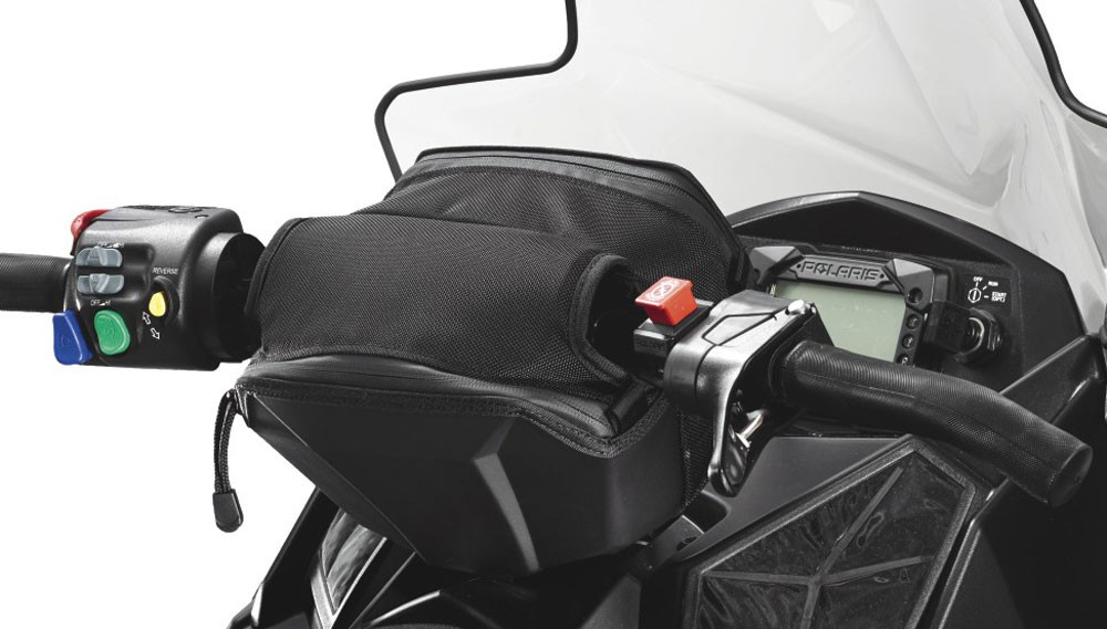 Snowmobile Storage: Polaris Indy Handlebar Bag