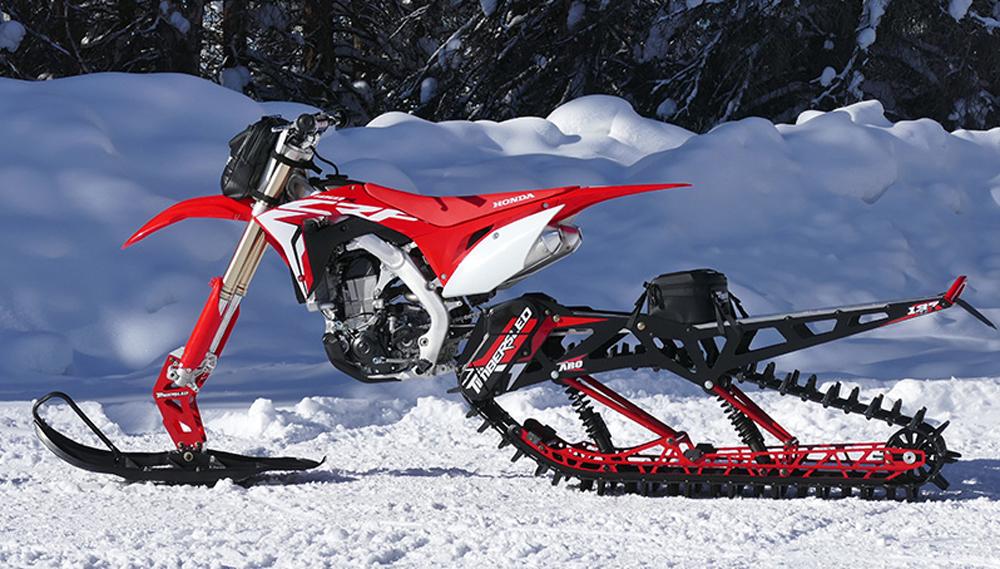 2018 Timbersled Aro 120 And 137 Snow Bike Kits