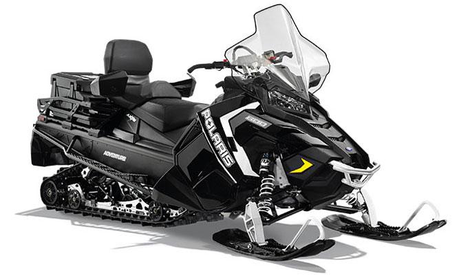 Polaris Titan Adventure: Toy Haulers For Snowmobiles
