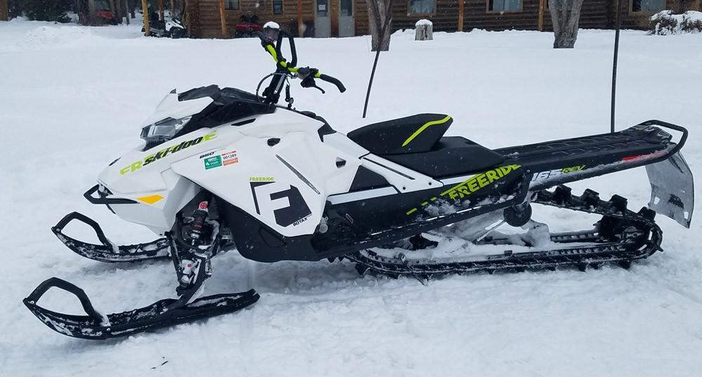 2018 Ski-Doo 850 Freeride Snow