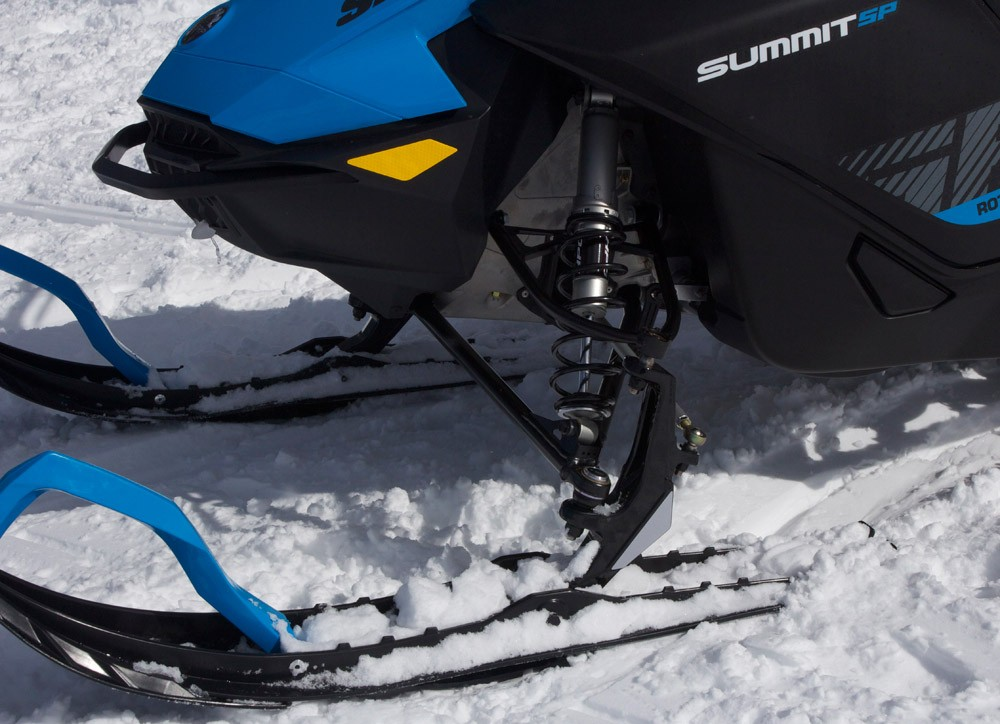 2019 Ski-Doo 600 Summit SP Front Suspension