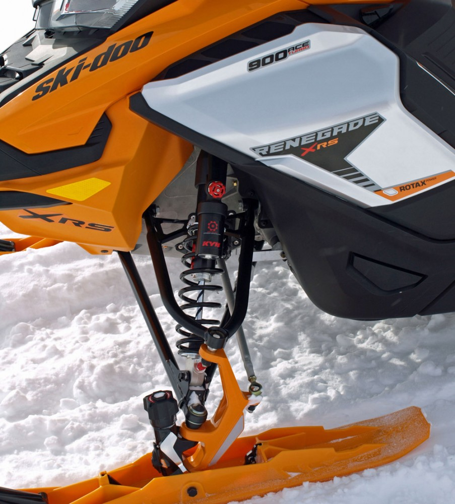 2019 Ski-Doo Renegade X-RS 900 ACE Turbo Front Suspension