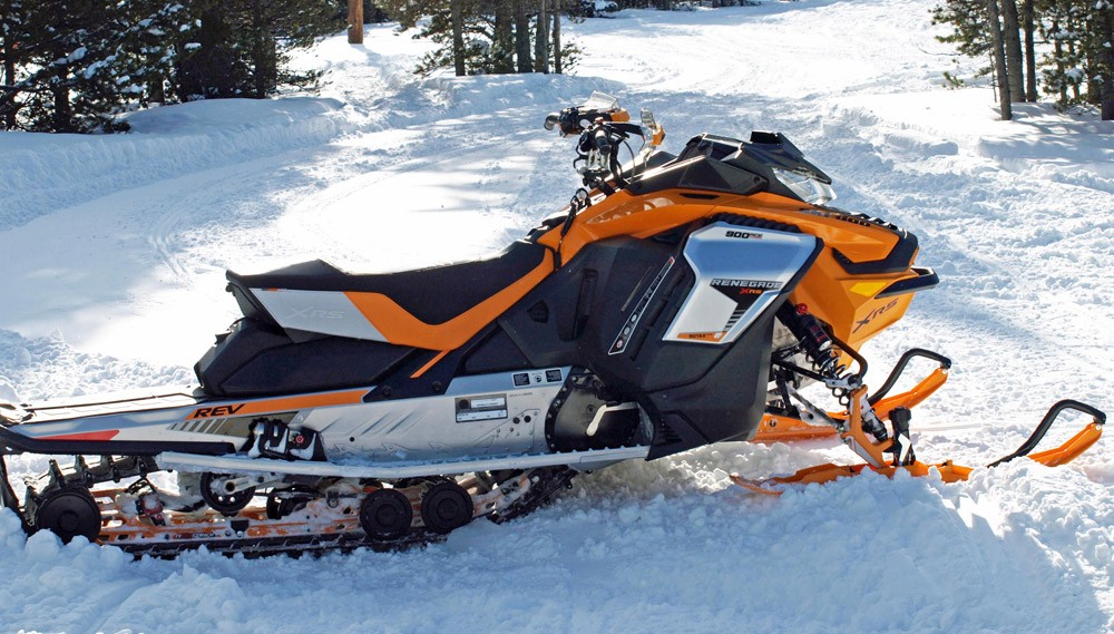 2019 Ski-Doo Renegade X-RS 900 ACE Turbo Profile