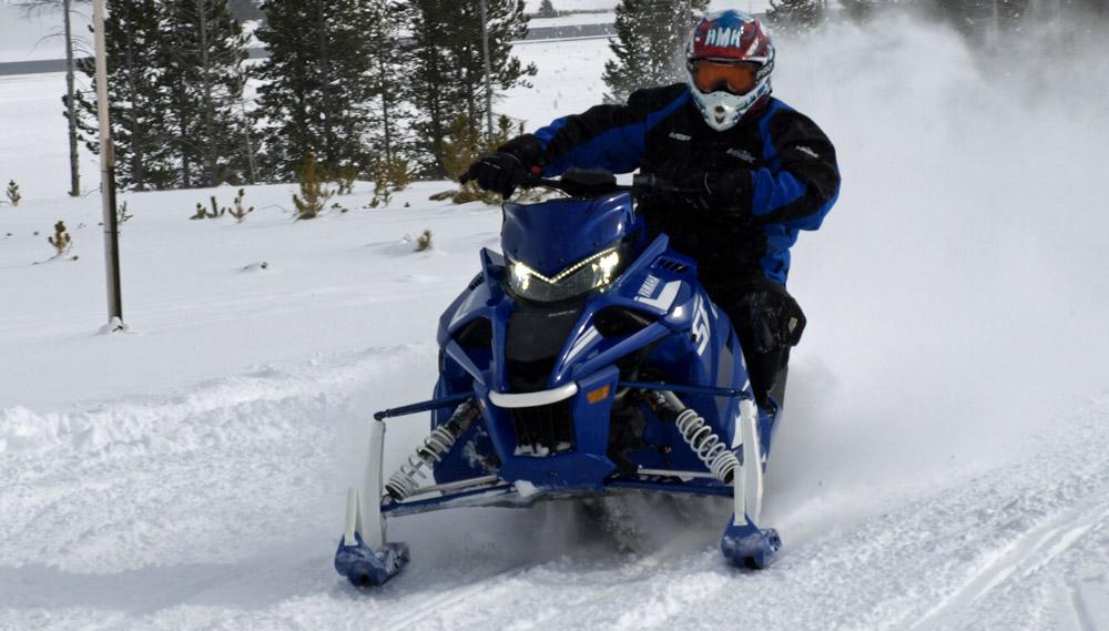 Yamaha Srx Snowmobile Review