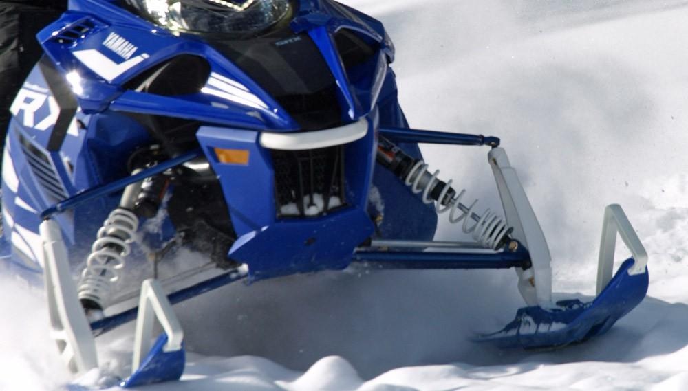 2019 Yamaha Sidewinder SRX LE Front Suspension
