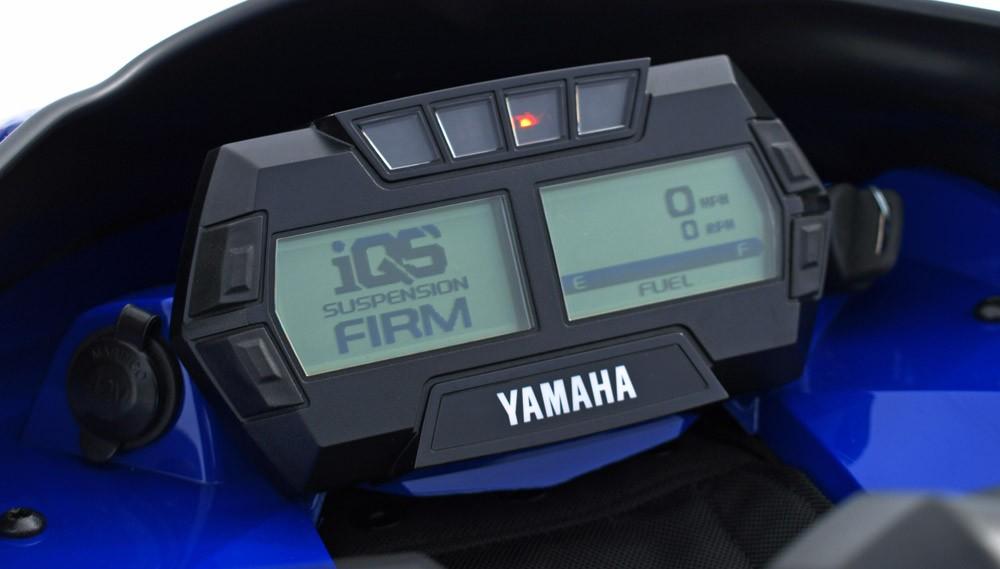 2019 Yamaha Sidewinder SRX LE Instrument Panel