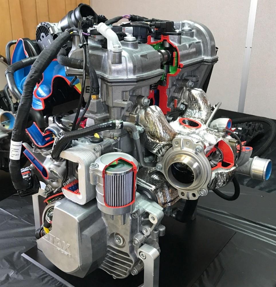Rotax 900 ACE Turbo Cutaway