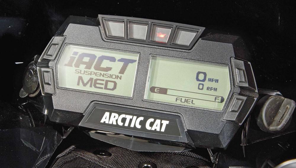 2019 Arctic Cat ZR 9000 Thundercat Gauges