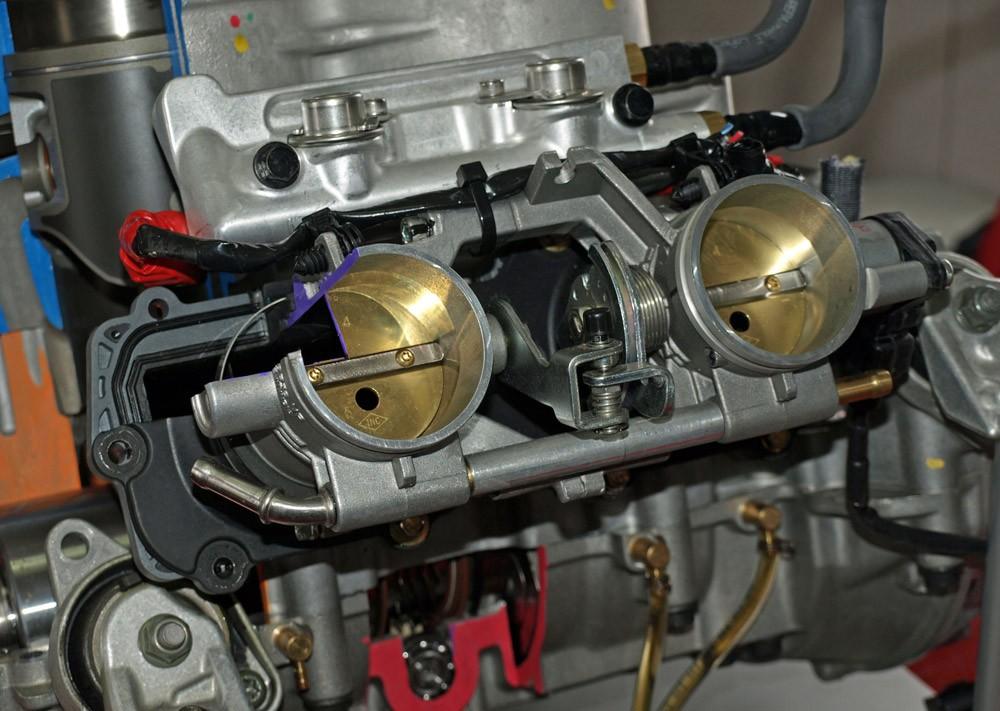 Polaris-Patriot 850 Engine Injector Front