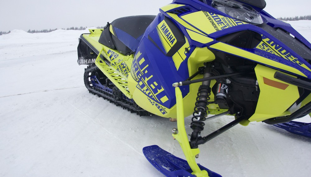 2019 Yamaha Sidewinder B-TX LE Front Suspension