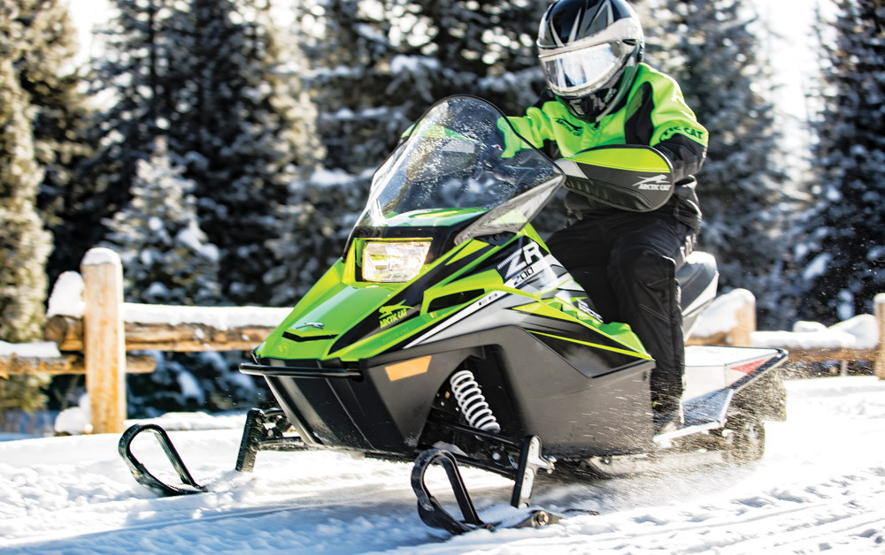 2019 Arctic Cat ZR 200 ES