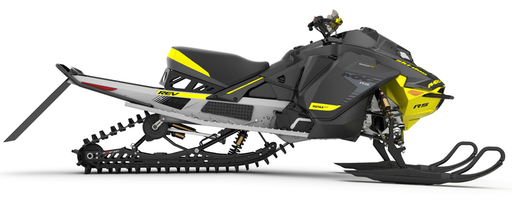 2019 ski doo mxzx 600 rs race sled unveiled. Black Bedroom Furniture Sets. Home Design Ideas
