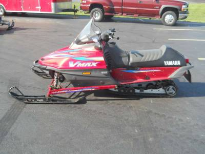 Yamaha Atv For Sale >> 2000 Yamaha Vmax 600 Deluxe For Sale : Used Snowmobile ...
