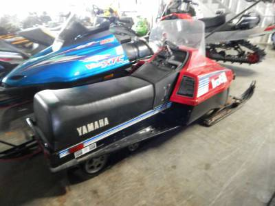 Used 1983 yamaha bravo 250 for sale used snowmobile for Used yamaha snowmobiles for sale in wisconsin
