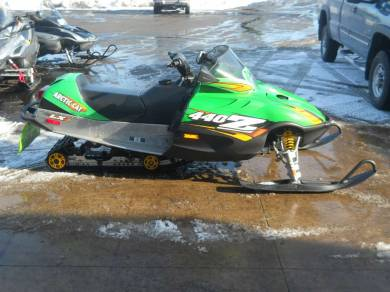 2005 Arctic Cat Z 440 LX For Sale : Used Snowmobile ...