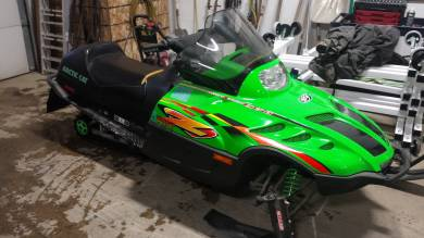 1999 Arctic Cat Z370 For Sale : Used Snowmobile Classifieds