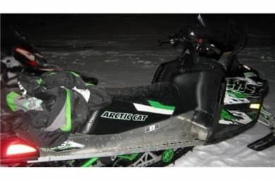 how to start a 2008 arctic cat m8