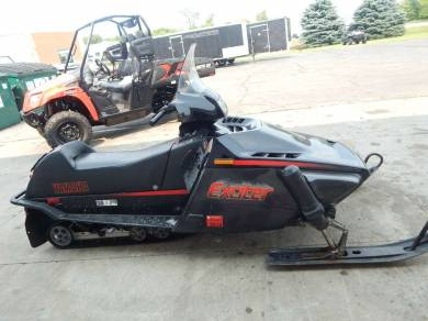 used 1987 yamaha exciter for sale used snowmobile