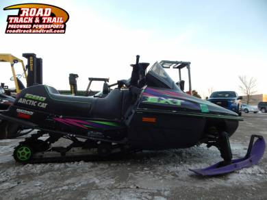 1997 Arctic Cat EXT 580 EFI For Sale : Used Snowmobile ...