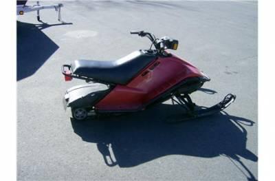 1989 yamaha sv80e sno scoot for sale used snowmobile for Yamaha sno scoot