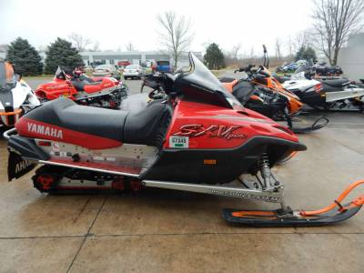Used 2002 yamaha sx viper er for sale used snowmobile for Yamaha sx viper windshield