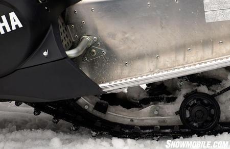 Xtx tunnel wheel for Yamaha nytro tunnel