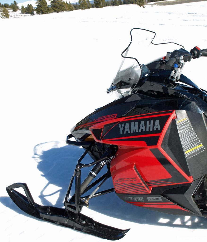 Yamaha Viper Snowmobile Windshield