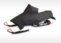 A longtime standard for sled covers is the DOWCO Guardian made of heavy-duty cotton. (Image courtesy of DOWCO.)