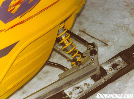 One of the 'big' for 1999 advancements included revisions in Ski-Doo's ADSA front suspension.