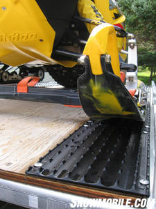 An 8.5-inch width fit even dual runner sleds.