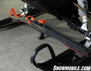 Bowdriks has revised its Superclamp ski tiedown bar.