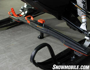Bowdriks has revised its Superclamp ski tiedown bar.