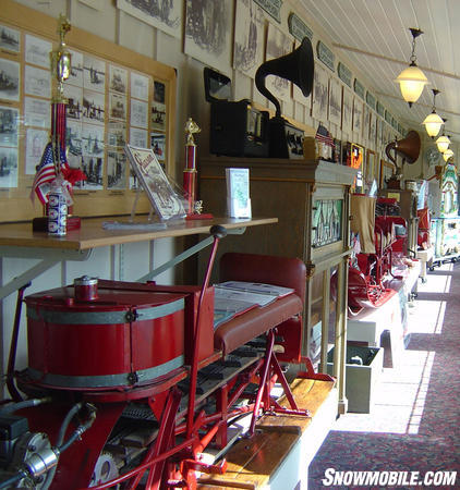 A look inside the Vilas County Historical Museum in Sayner.